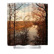 Anacostia River 6457 Shower Curtain
