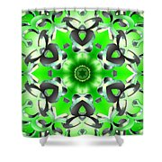 Anahata Conjunction Shower Curtain