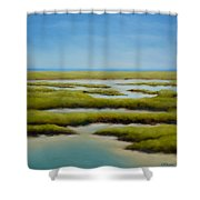Anahuac Afternoon Shower Curtain