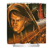 Anakin Turns To The Dark Side Shower Curtain