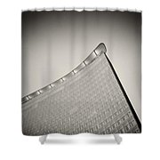 Analog Photography - Berlin Architecture Shower Curtain