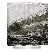 Anamis Forks Colorado Shower Curtain