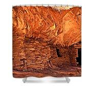 Anasazi  Cliff Dwelling Shower Curtain