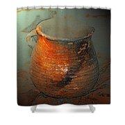 Anasazi Cooking Pot Shower Curtain