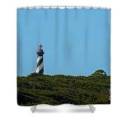 Anastasia Lighthouse Shower Curtain