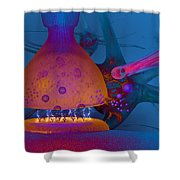 Anatomy Of Concussion Shower Curtain