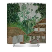 Ancestral House Shower Curtain