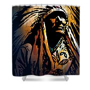 Ancestral Light Shower Curtain