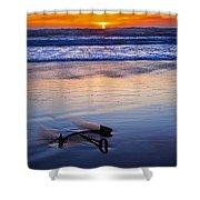 Anchor Ocean Beach Shower Curtain