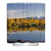 Anchorage And Westchester Pano Shower Curtain