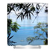 Anchorage In Paradise Shower Curtain