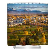 Anchorage Landscape Shower Curtain