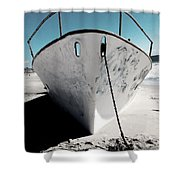 Anchored Ashore Shower Curtain
