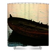 Anchored For The Day Shower Curtain