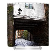 Ancient Alley In Tui Shower Curtain