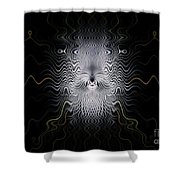 Ancient Ancestor Shower Curtain by Peter R Nicholls