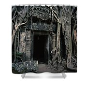 Ancient Angkor Cambodia Shower Curtain