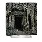 Ancient Angkor Shower Curtain by Shaun Higson