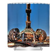 Ancient Cannon From Ww2 Shower Curtain