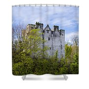 Ancient Castle Donegal Shower Curtain