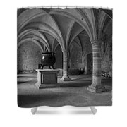 Ancient Cloisters. Shower Curtain