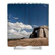 Ancient Dolmen Shower Curtain