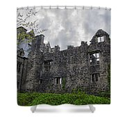 Ancient Donegal Castle Shower Curtain