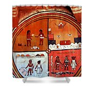Ancient Drawings Shower Curtain