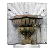 Ancient Fountain Shower Curtain