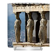 Ancient Greece Shower Curtain