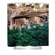 Ancient Houses Shower Curtain