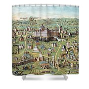 Ancient Jerusalem Shower Curtain