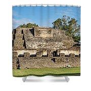 Ancient Mayan Ruins, Altun Ha, Belize Shower Curtain