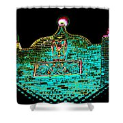 Ancient Morrocan Nights Shower Curtain