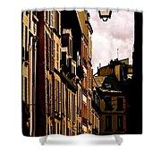 Ancient Paris Shower Curtain