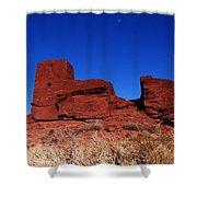 Ancient Pueblo Shower Curtain