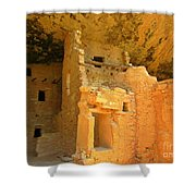 Ancient Pueblo Dwelling Ruins Two Shower Curtain