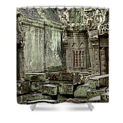 Ancient Ruins Cambodia Shower Curtain