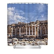 Ancient Ruins In Side Turkey Shower Curtain