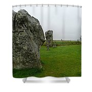 Ancient Site Of Avebury Shower Curtain