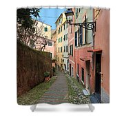ancient street in Sori Shower Curtain