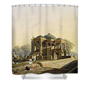 Ancient Temple At Hulwud, From Volume I Shower Curtain