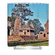 Ancient Temple Complex  - Amarkantak India Shower Curtain