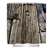 Ancient Timber Shower Curtain