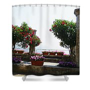 Ancient Town Of Ravello Italy Shower Curtain
