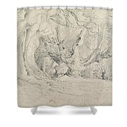 Ancient Trees Lullingstone Park Shower Curtain