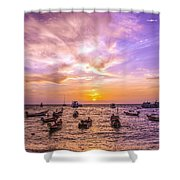 And Every Sunset Will Bring You That Much Nearer... Shower Curtain