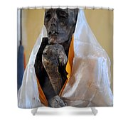 And He Is Still Alive Shower Curtain