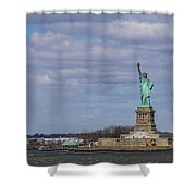 ...and Justice For All Shower Curtain