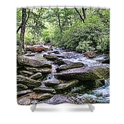 ...and The Creek Don't Rise Shower Curtain
